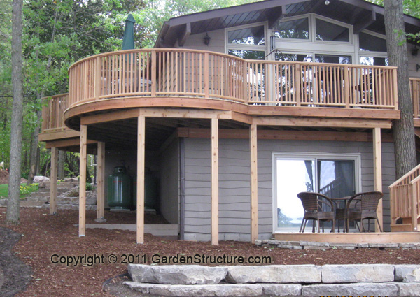 deck construction guidelines ontario