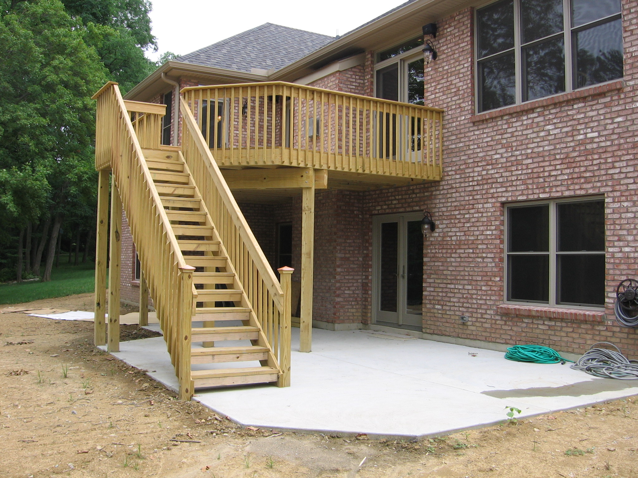Deck Construction Ideas Deck Design And Ideas - Building deck stairs railing