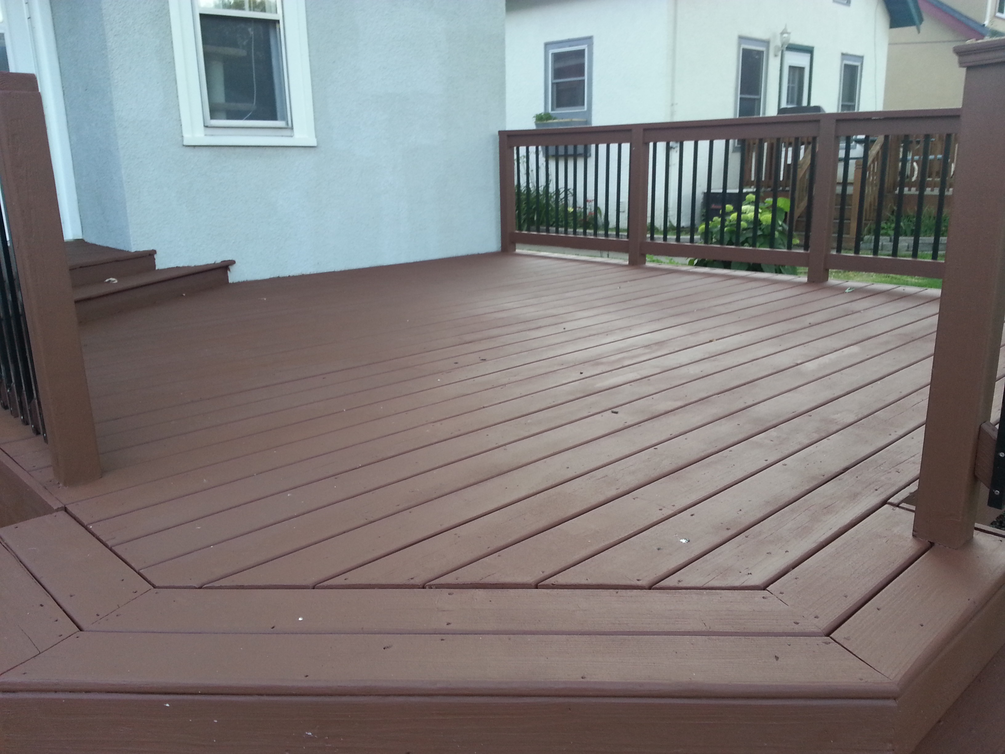 Elegant Wood Deck Resurfacing Options