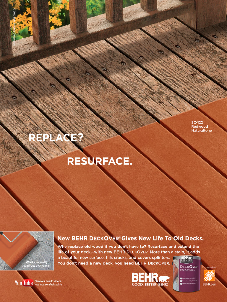 Deck cover paint home depot | Deck design and Ideas
