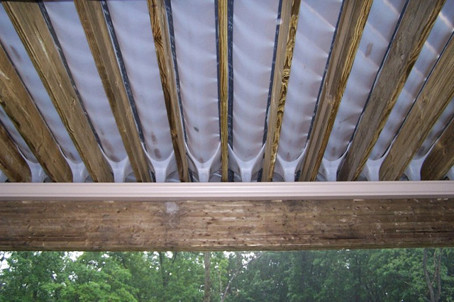 Deck Drainage System Lowes Deck Design And Ideas