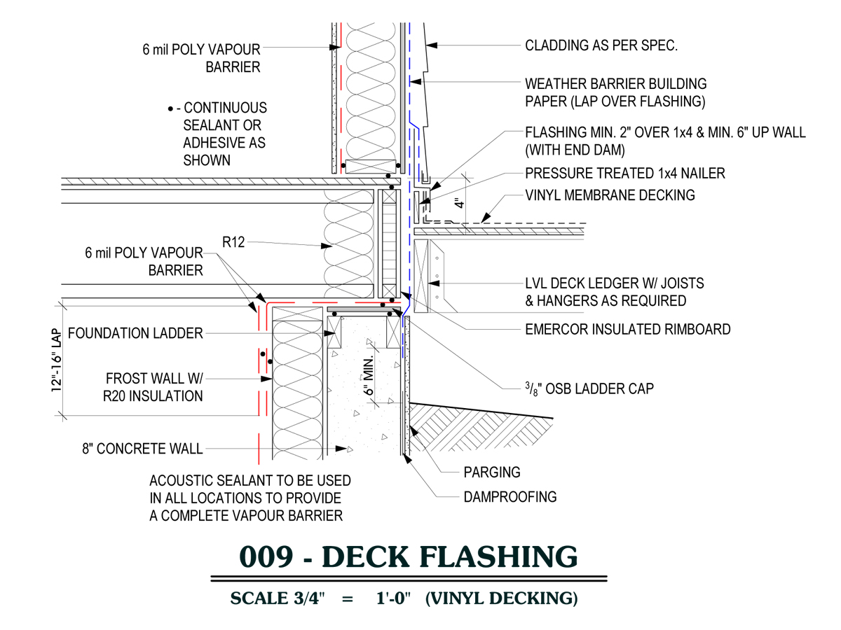 deck flashing detail