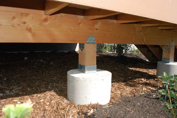 Deck Footing Installation Deck Design And Ideas