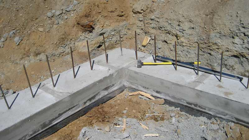 Deck Footing Materials : Deck footings on concrete slab design and ideas