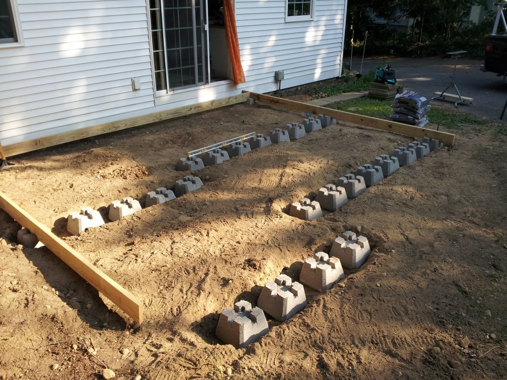 Deck Footings Precast Deck Design And Ideas