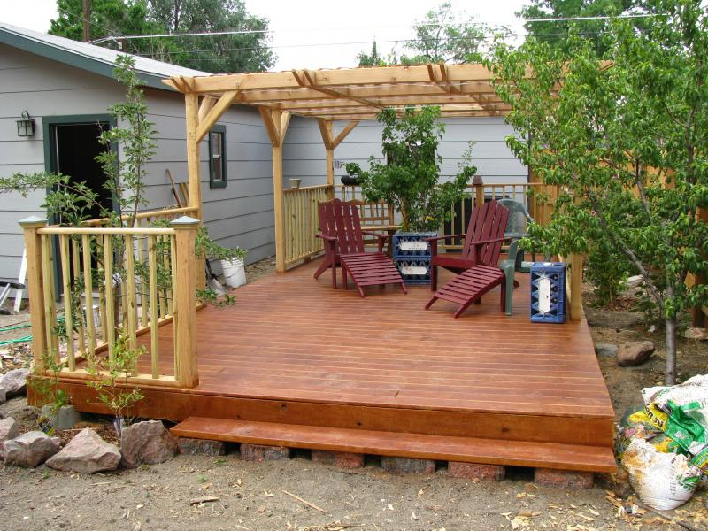 deck foundation ideas