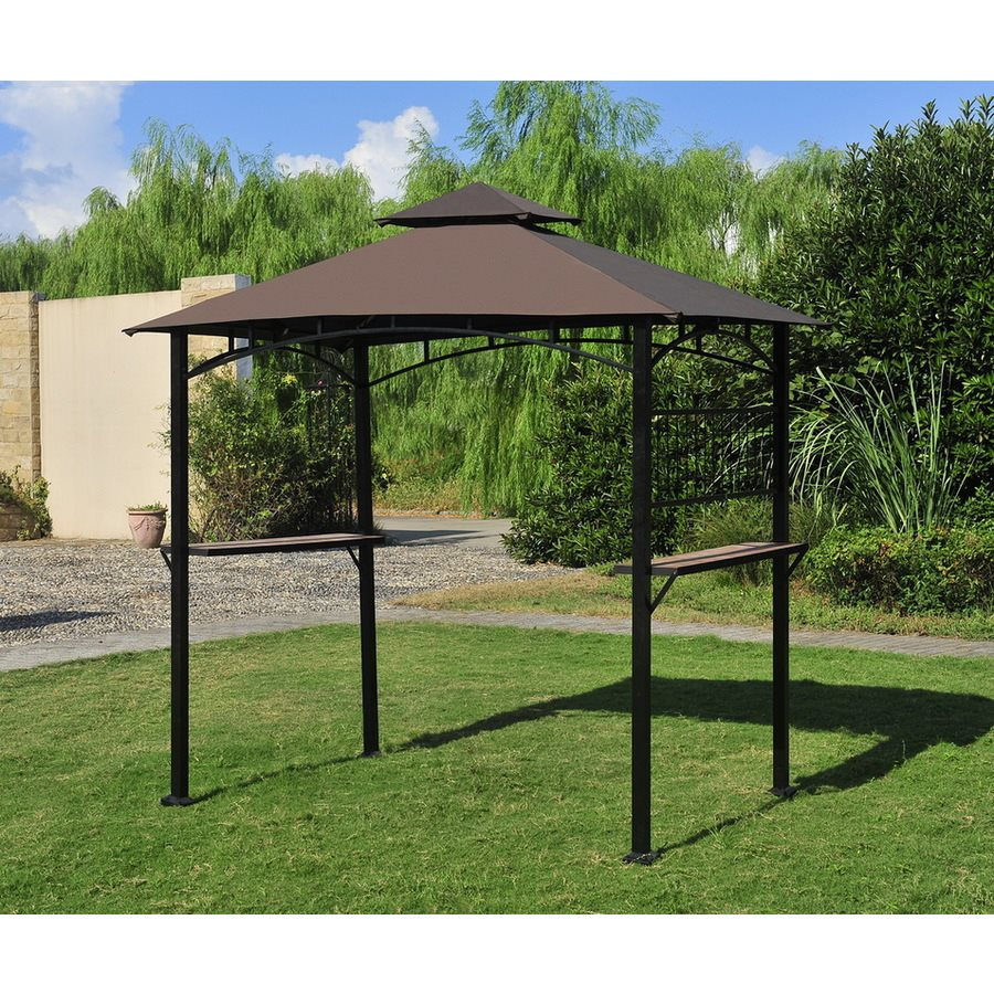 deck gazebo lowes