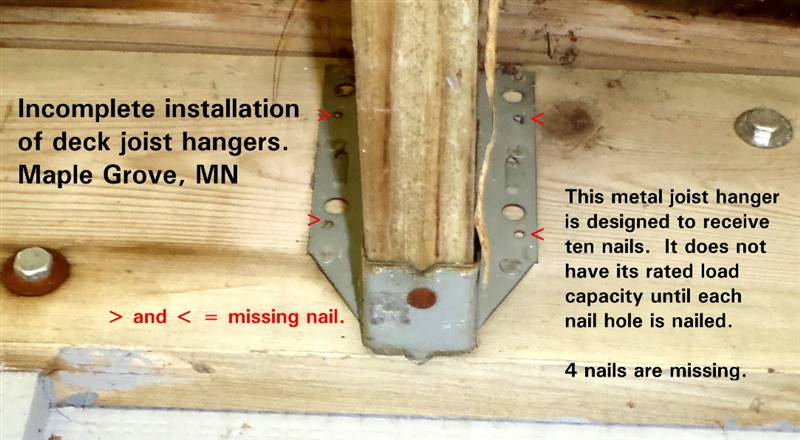 Deck Hanger Nails Deck Design And Ideas