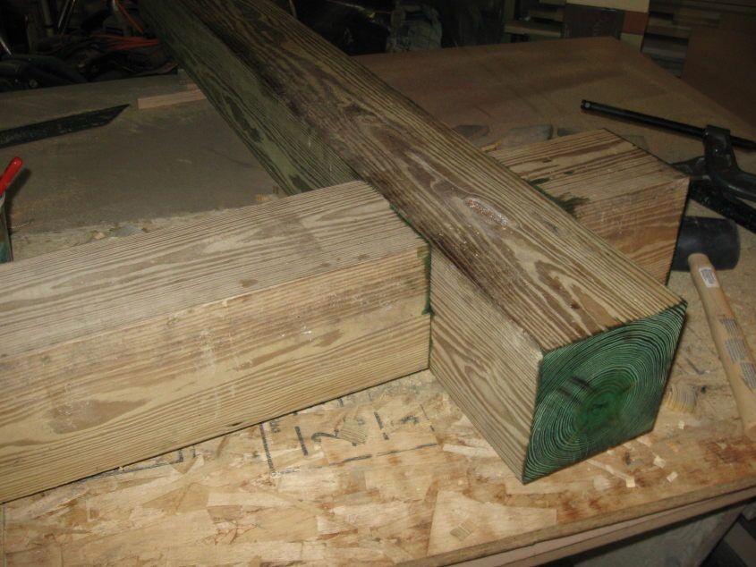 deck joist hangers nails or screws