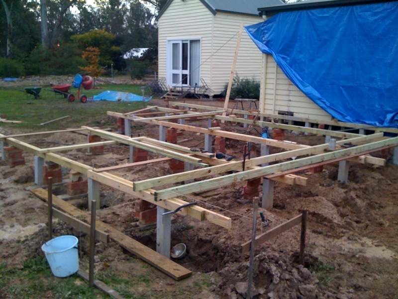 deck joists and bearers