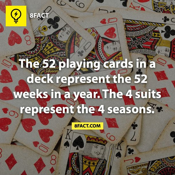 deck of cards facts