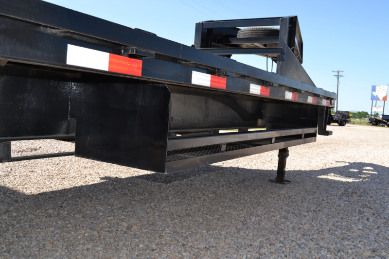 deck over dump trailer removable sides