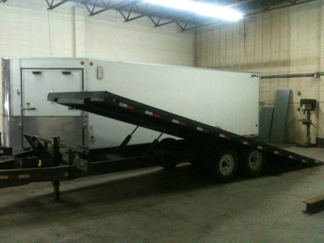 deck over tilt trailer for sale