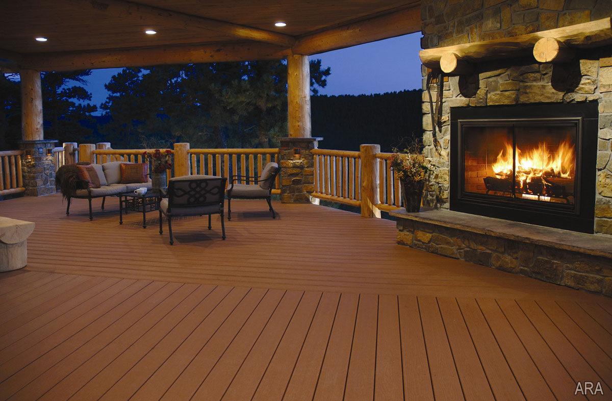 deck patio and outdoor living
