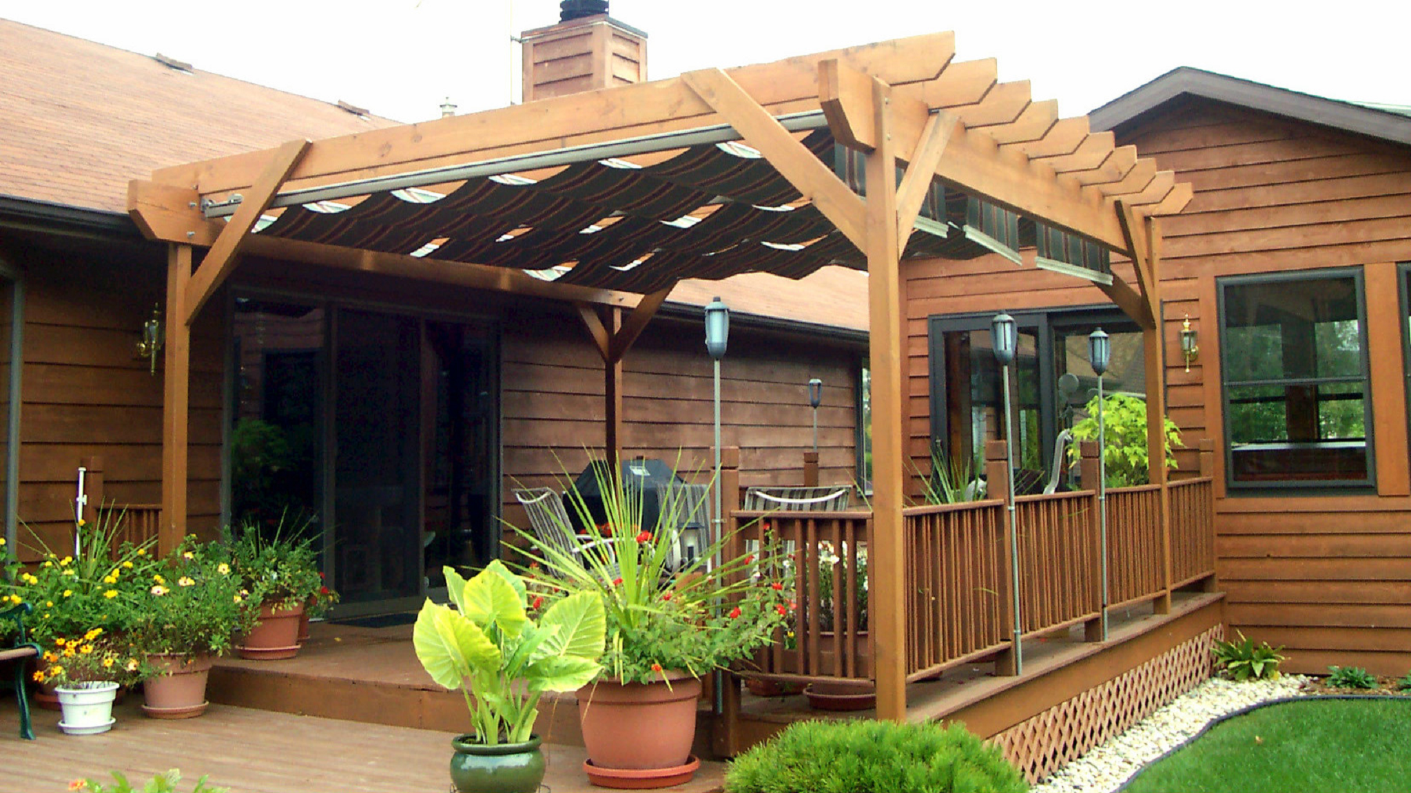 deck pergola canopy & Deck pergola canopy | Deck design and Ideas