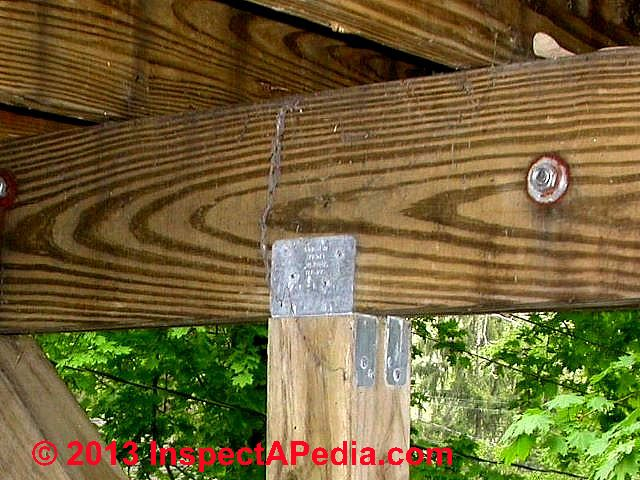 Deck Post And Beam Construction Deck Design And Ideas