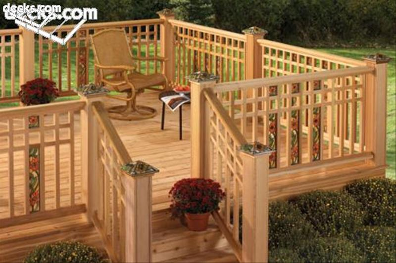 Deck Post Styles Deck Design And Ideas