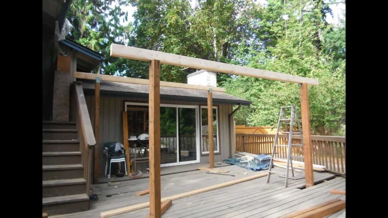 Deck Roof Covering Options Deck Design And Ideas