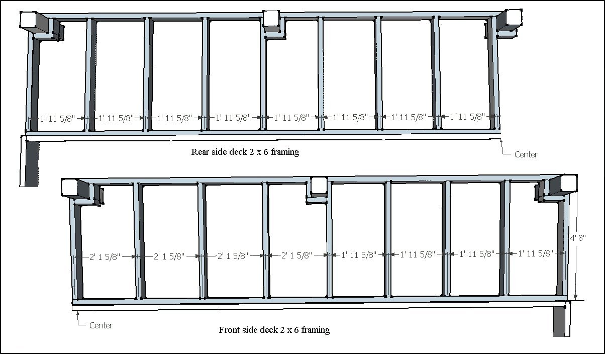 Advice On Deck Roof Design? - Decks & Fencing - Contractor ... |Roof Deck Framing Plans