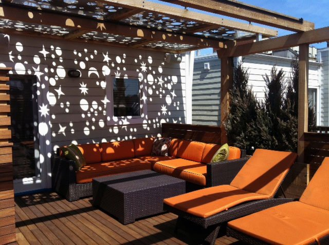 Deck roof panels design and ideas