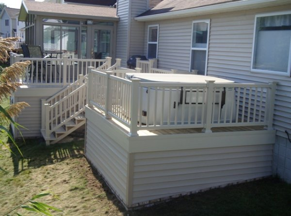 deck skirting pictures