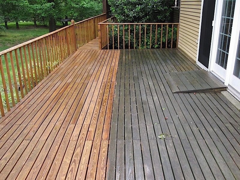 Deck Stain Colors On Pressure Treated Wood Deck Design