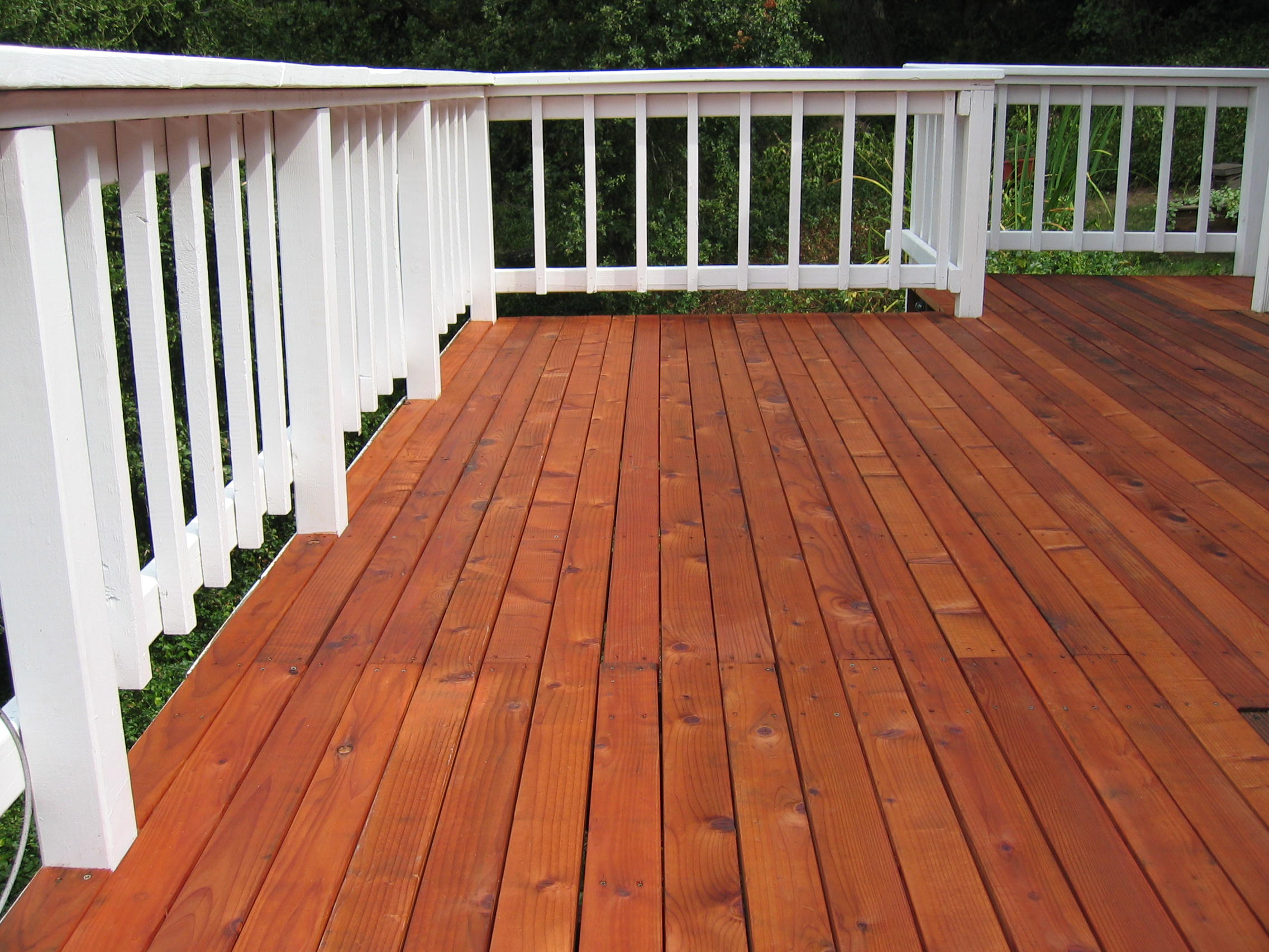 deck stain pictures