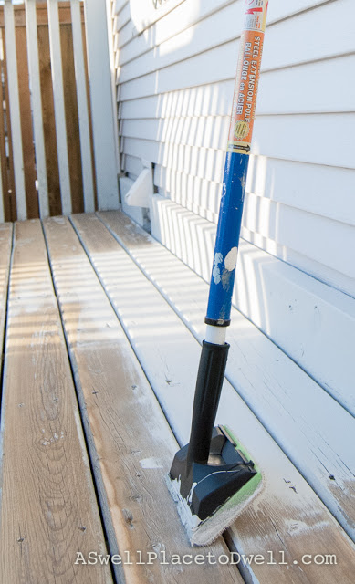 deck staining brush home depot