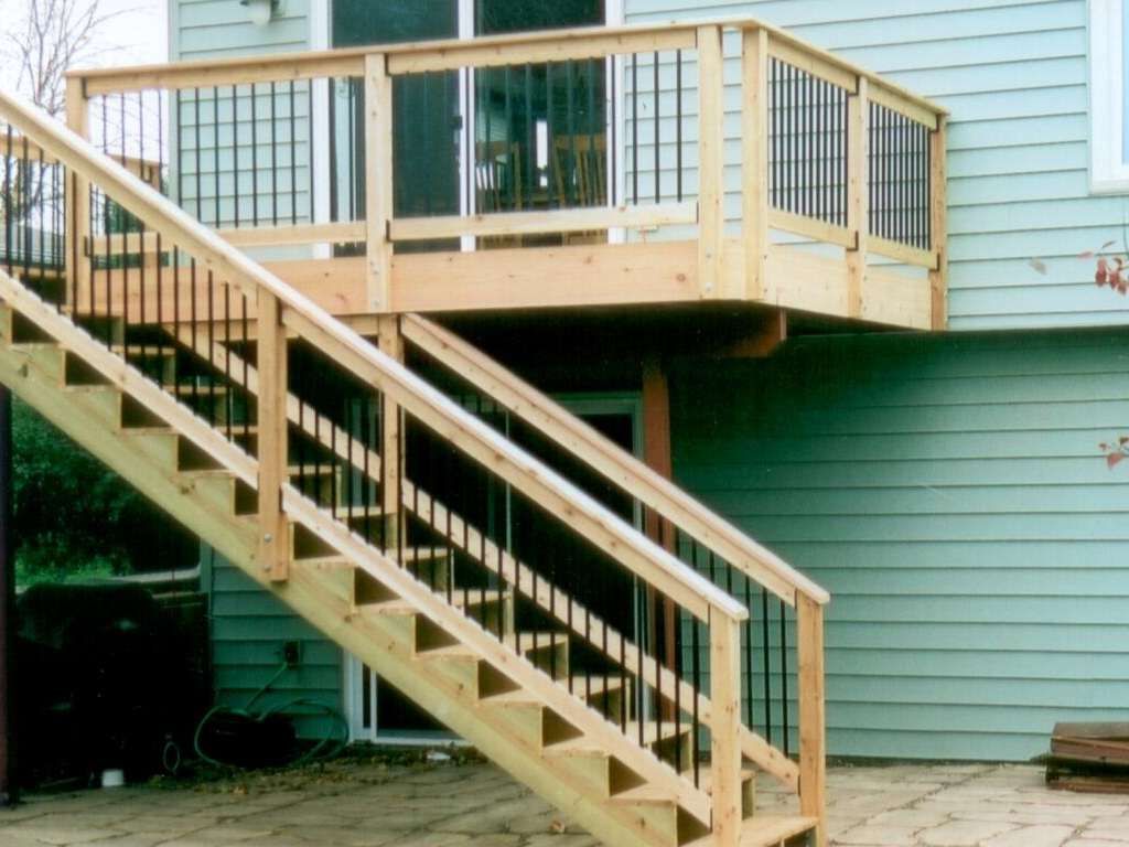 Deck Stairs Design Plans Deck Design And Ideas - Building deck stairs railing