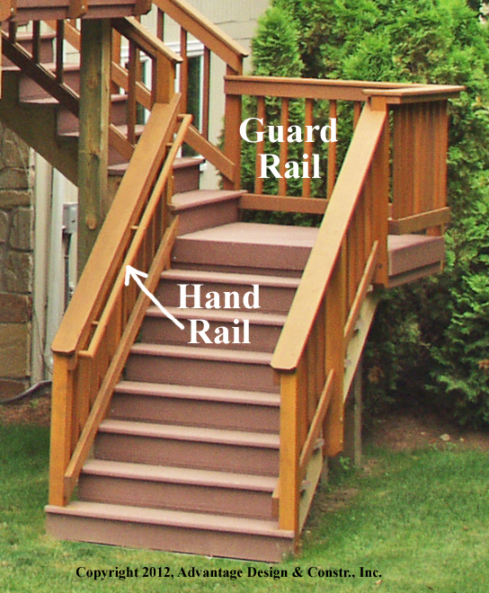 Awesome Exterior Stair Handrail Photos - Interior Design Ideas ...