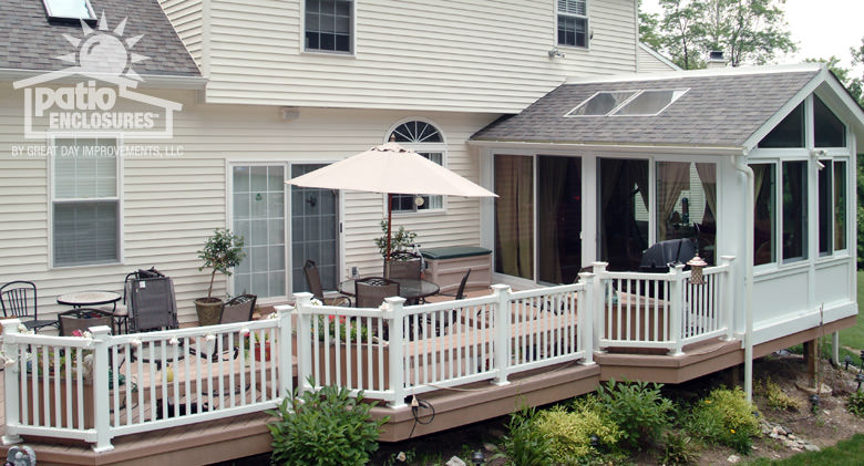 Deck Sunroom Pictures Deck Design And Ideas