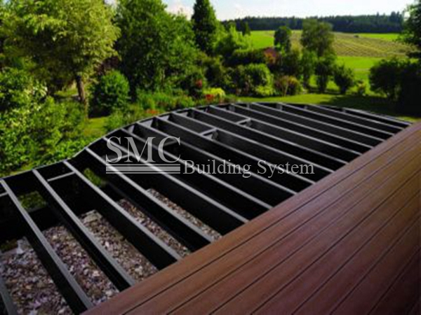 deck tile framing system