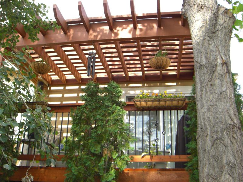 Deck Trellis Cover Deck Design And Ideas