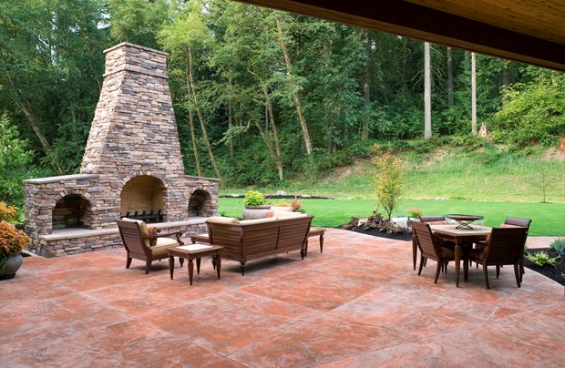 Exceptional Deck Vs Concrete Patio Cost Deck Design And Ideas