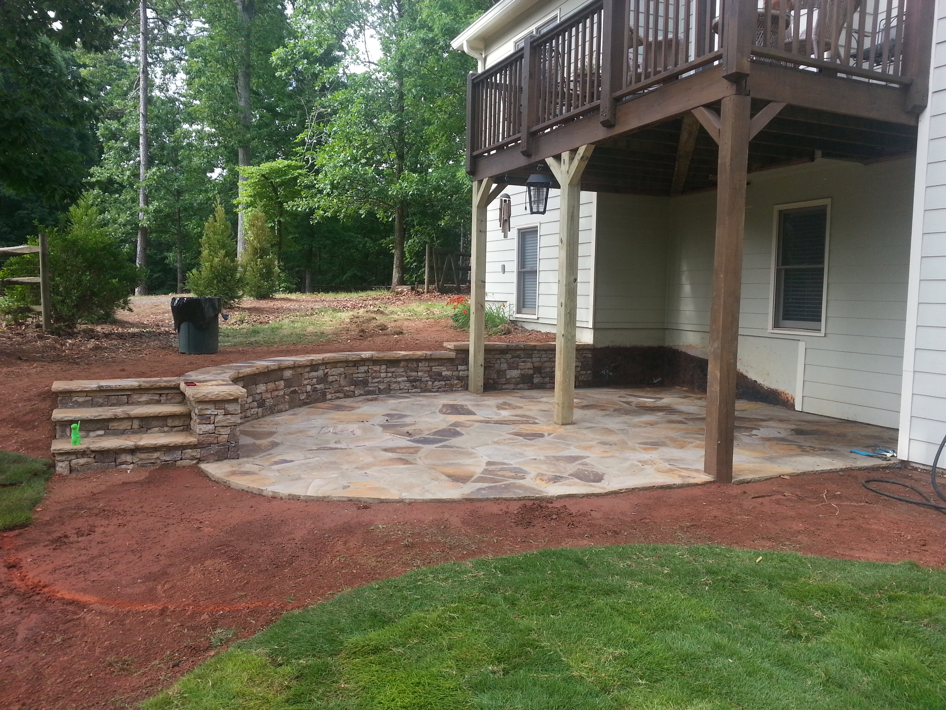Deck with patio underneath deck design and ideas deck with patio underneath baanklon Choice Image