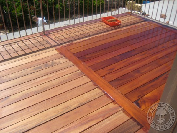deck wood finish