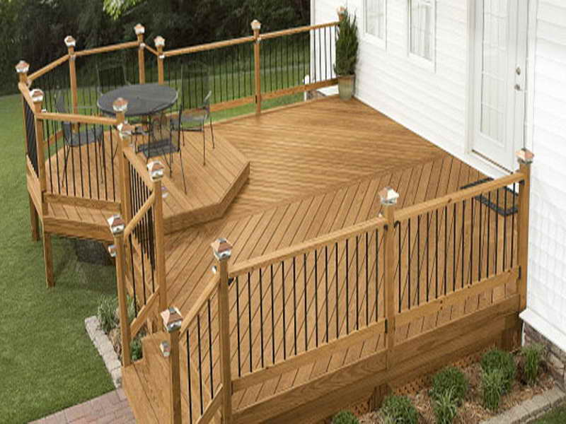 deck wood lowes