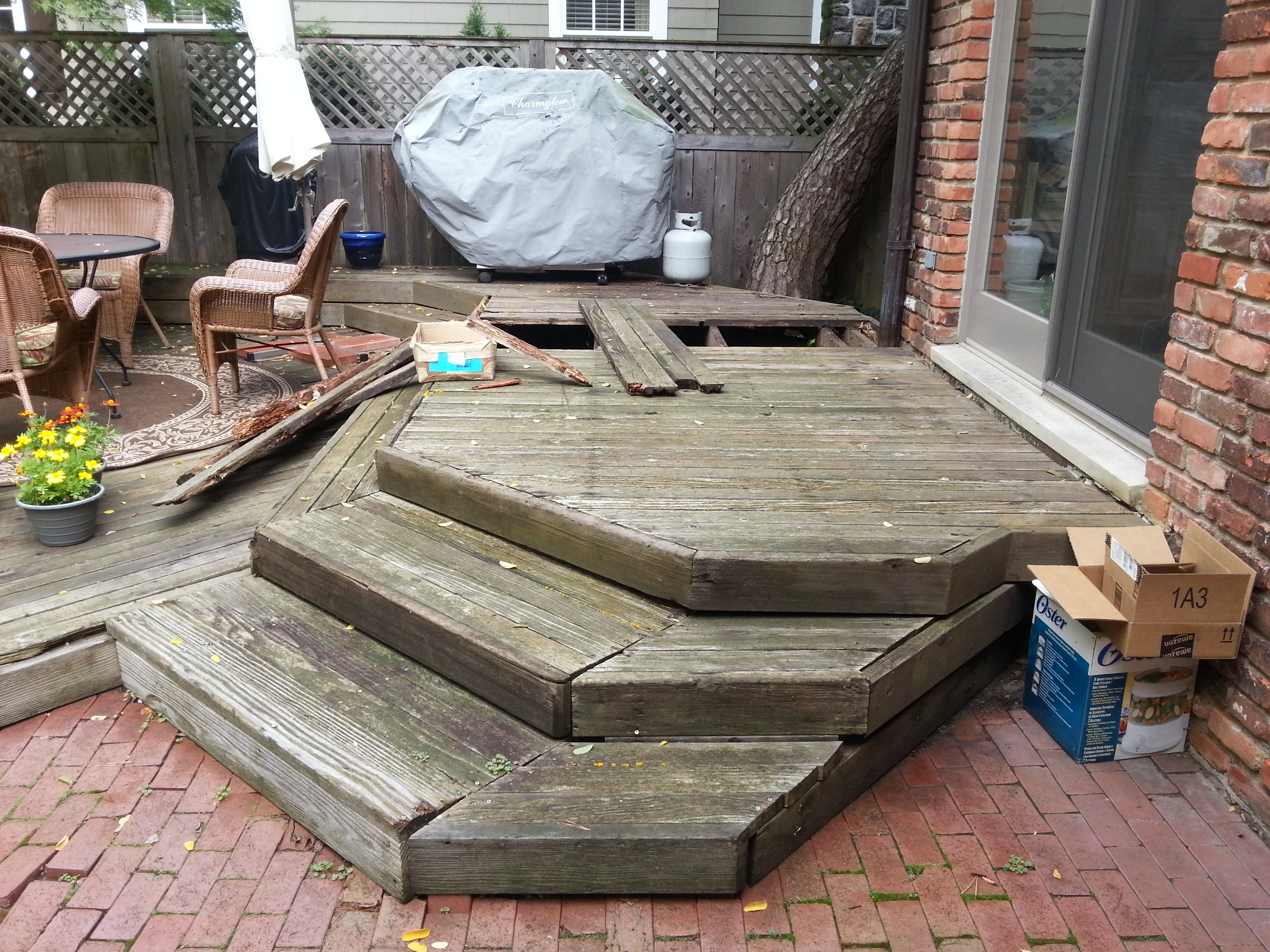 deck wood replacement