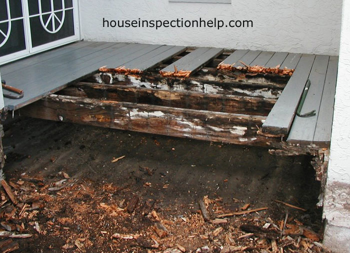 deck wood rot