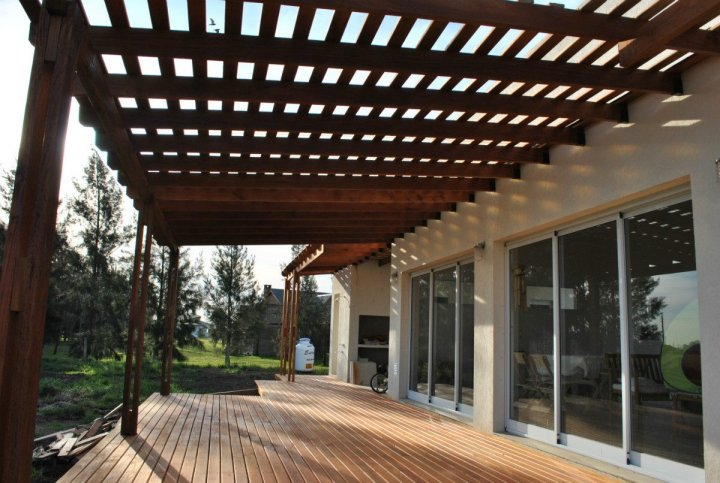 Deck Y Pergolas De Madera Deck Design And Ideas