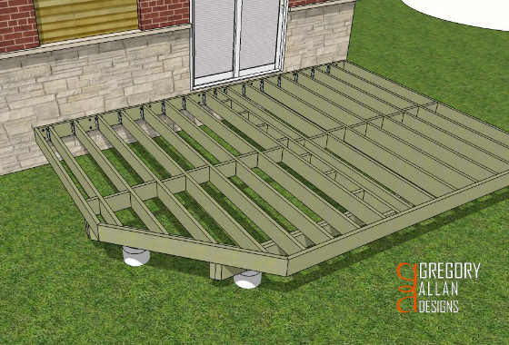 Framing A Deck With Angles Deck Design And Ideas
