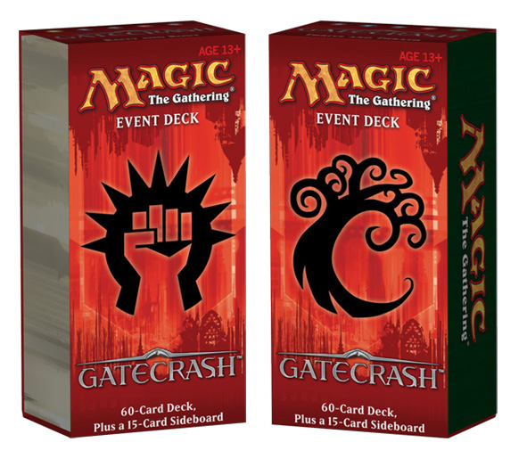 gatecrash event deck
