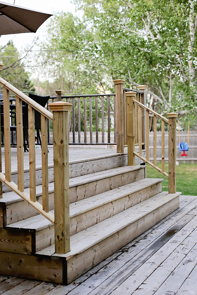 How Wide Do Deck Stairs Need To Be