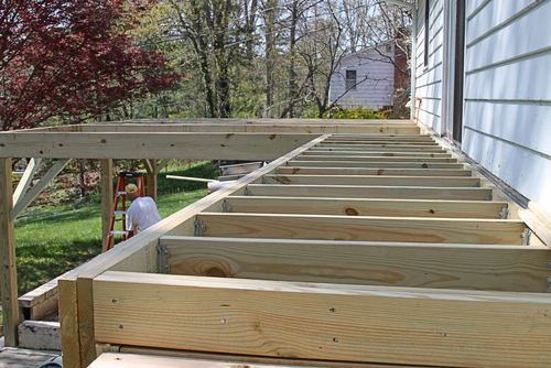 Installing deck over concrete patio | Deck design and Ideas