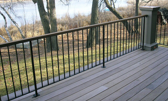 Iron Deck Railing Images Deck Design And Ideas