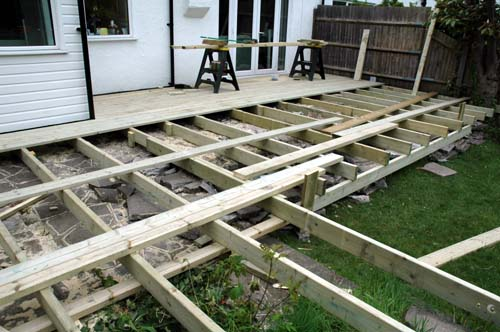 l shaped deck pictures