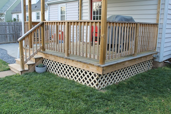 Lattice Around Deck Deck Design And Ideas