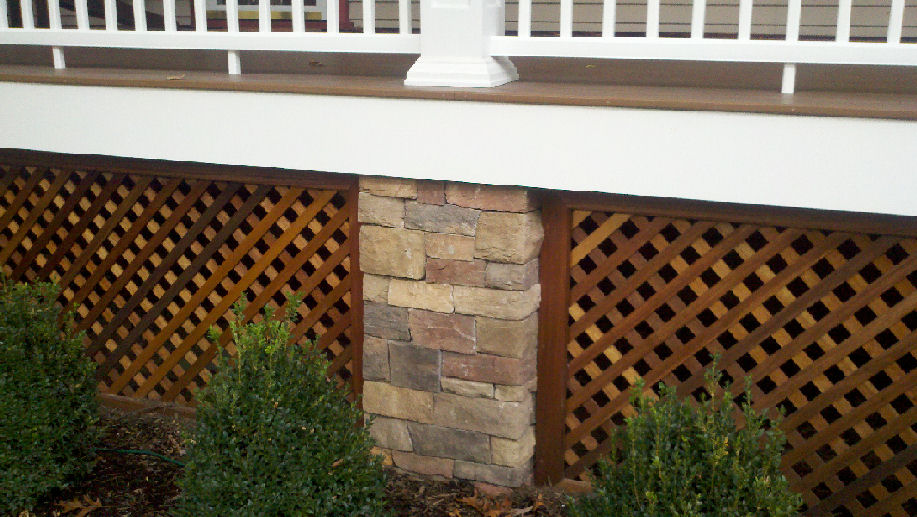 Lattice Deck Skirting Ideas Deck Design And Ideas
