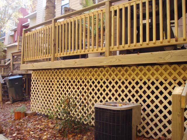 Lattice Under Deck Ideas Deck Design And Ideas