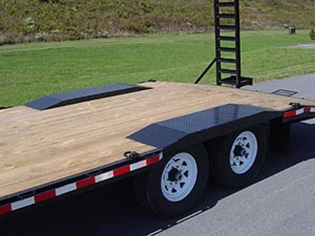 low profile deck over trailer